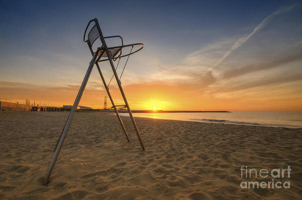 Photograph - Barcelona Baywatch by Yhun Suarez
