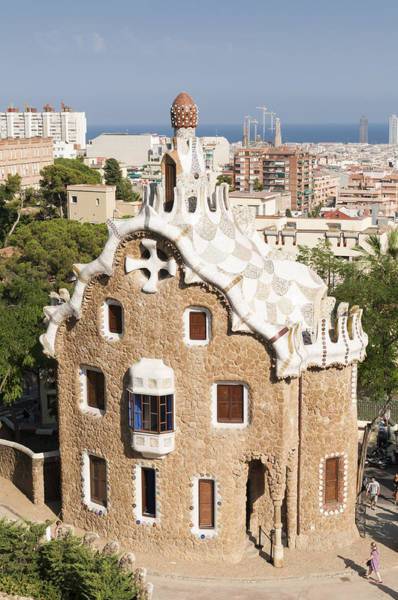Photograph - Barcelona Parc Guell by Matthias Hauser