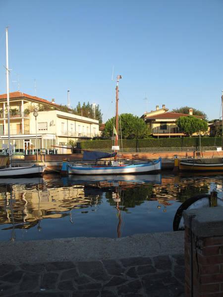 Barche Da Pesca Cervia Porto Art Print