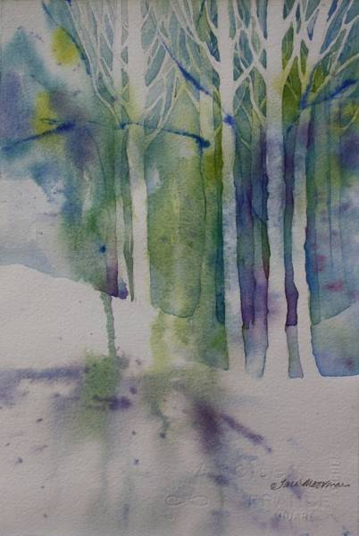 Painting - Bare Trees by Tara Moorman