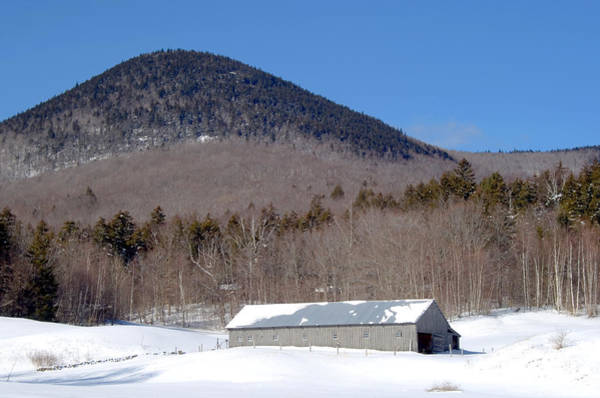 Photograph - Barn Winter by Larry Landolfi