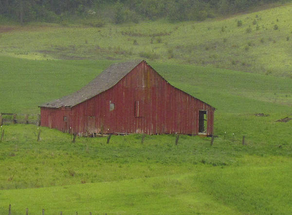 Photograph - Barns Of The Palouse 2 by Tony and Kristi Middleton