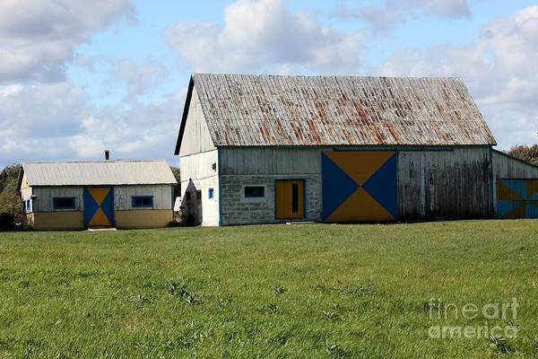 St Ignace Wall Art - Photograph - Barns by Sophie Vigneault
