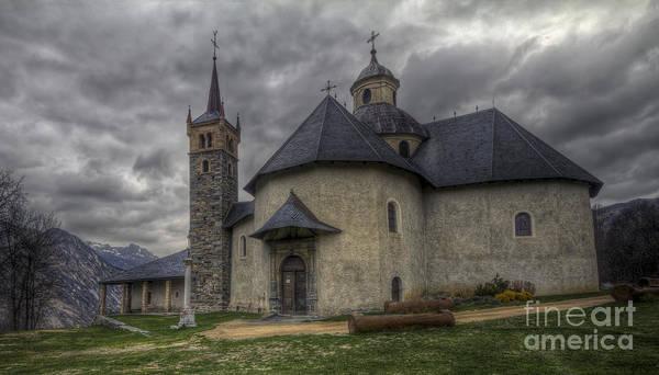 Baroque Church In Savoire France 6 Art Print