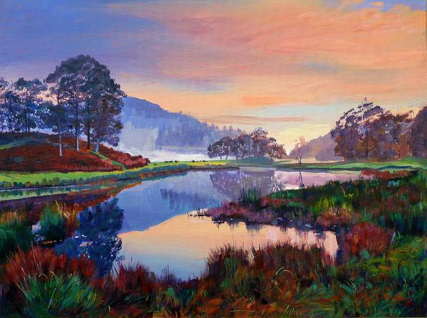 Lake District Wall Art - Painting - Baroque Dawn by David Lloyd Glover