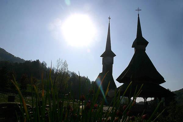 Photograph - Barsana Monastery Romania by Emanuel Tanjala