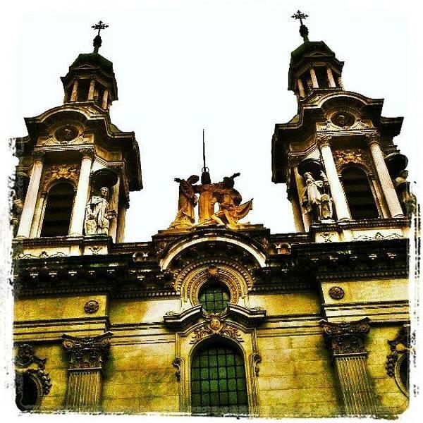 Run Photograph - Basilica De San Francisco, Buenos Aires by Hit And Run History