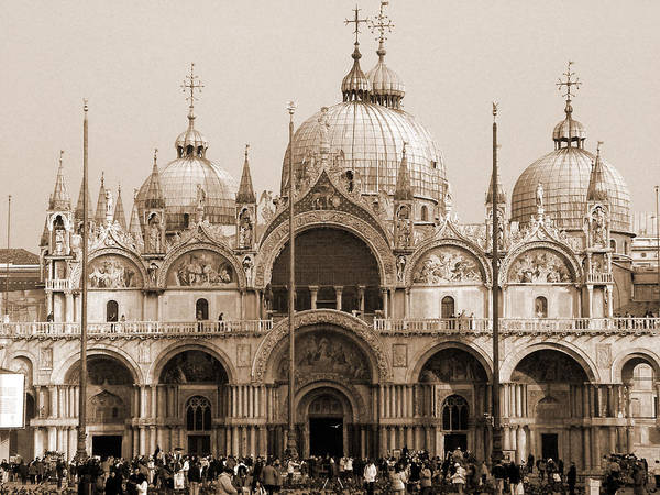 Photograph - Basilica Of San Marco by Donna Corless