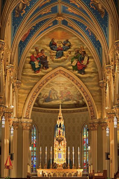 Wall Art - Photograph - Basilica Of The Sacred Heart by John Stephens