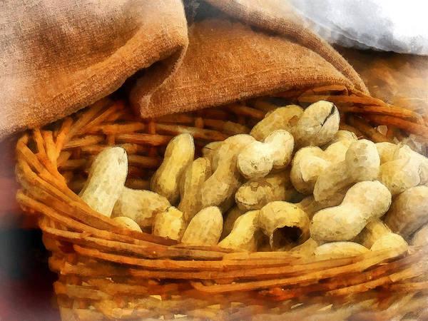 Photograph - Basket Of Peanuts by Susan Savad