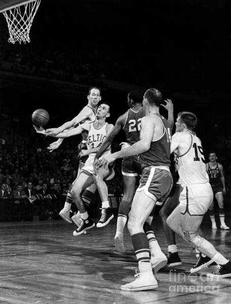 Photograph - Basketball Game, C1960 by Granger