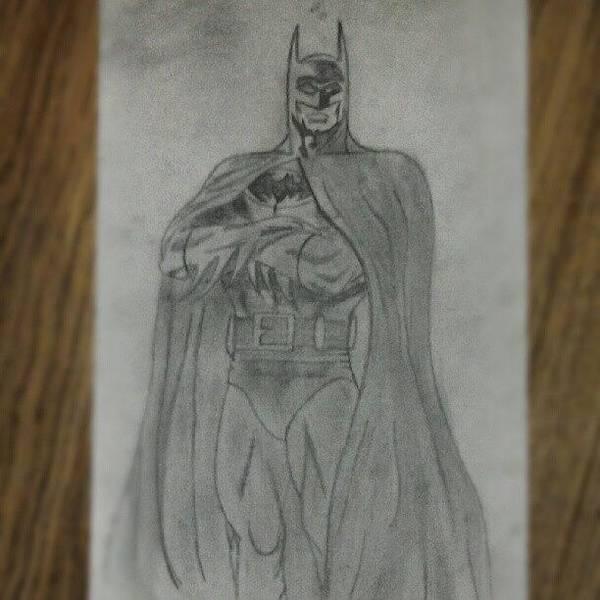 Comics Wall Art - Photograph - #bat #batman #thedarkknight #art by Peter Dickinson