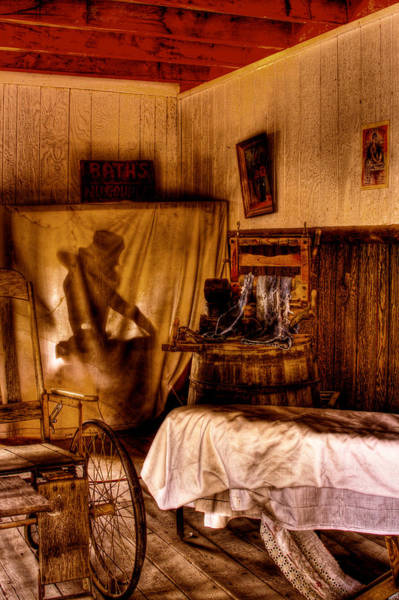 Photograph - Baths - No Couples - At The Bonnie Springs Ranch Old West Town by David Patterson