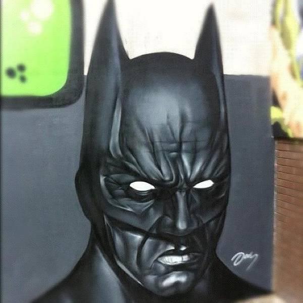 Superhero Wall Art - Photograph - #batman By #jodyt During by Nigel Brown