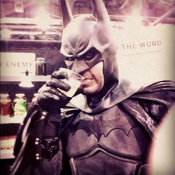 Comics Wall Art - Photograph - Batman Really Let Himself Go... #batman by April Ferocious
