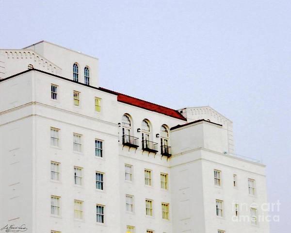 Hilton Hotel Digital Art - Baton Rouge Hilton by Lizi Beard-Ward