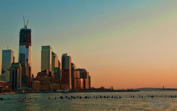 Photograph - Battery Park City by S Paul Sahm