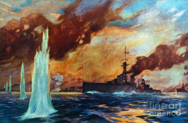 Photograph - Battle Of Jutland, 1916 by Granger