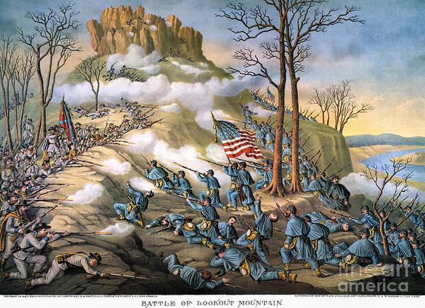 Allison Photograph - Battle Of Lookout Mount by Granger