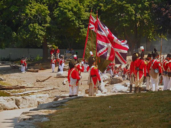 Photograph - Battle Of Queenston Heights 32 by Cyryn Fyrcyd