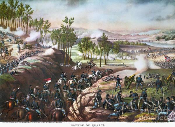 Allison Photograph - Battle Of Resaca, 1864 by Granger