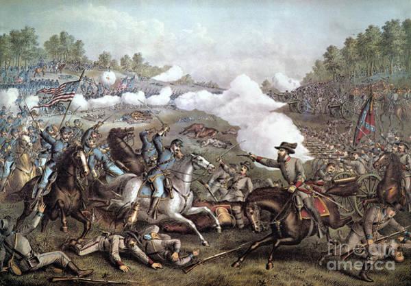 Allison Photograph - Battle Of Winchester, by Granger
