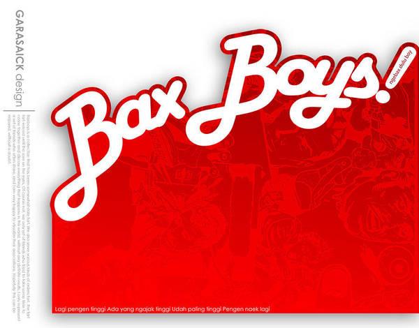 Wall Art - Digital Art - Bax Boys  by Andy Garasaick