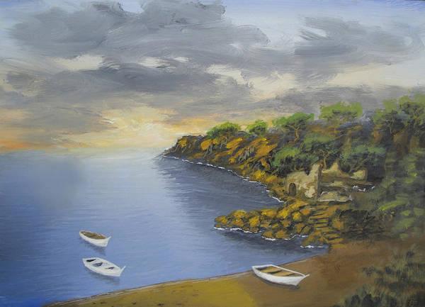 Bay Of Peace Art Print