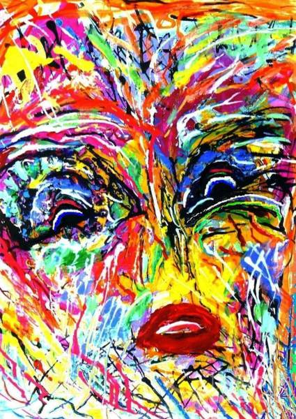 Sax Painting - Be Happy by Darlyne Sax