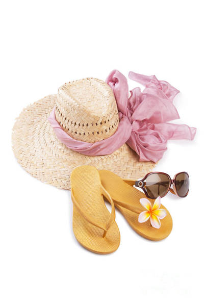 Protective Clothing Photograph - Beach Accessories by Atiketta Sangasaeng