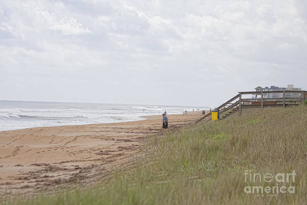 Photograph - Beach Along A1a by Deborah Benoit