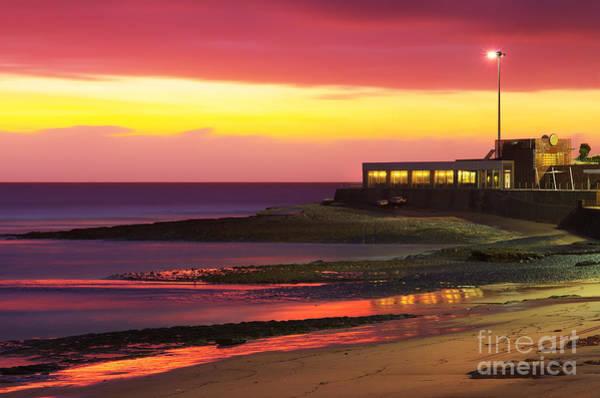 Wall Art - Photograph - Beach At Sunset by Carlos Caetano