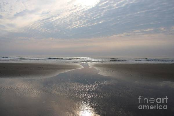 Barmouth Photograph - Beach Glow by Ed Lukas
