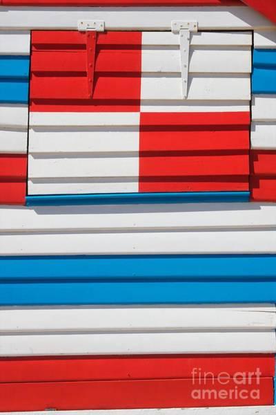 Beach House - Tricolore I Art Print by Hideaki Sakurai