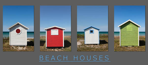Photograph - Beach Houses by Stefan Nielsen