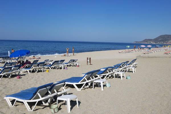 Photograph - Beach Near Alanya Turkey Europe by Matthias Hauser