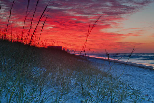 Photograph - Beach On Fire by At Lands End Photography
