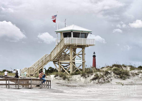 Photograph - Beach Patrol by Deborah Benoit