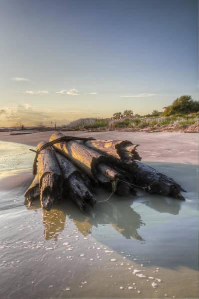 Wall Art - Photograph - Beach Ruins  by Drew Castelhano