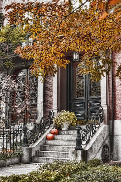 Photograph - Beacon Hill Doorway 2 by Joann Vitali