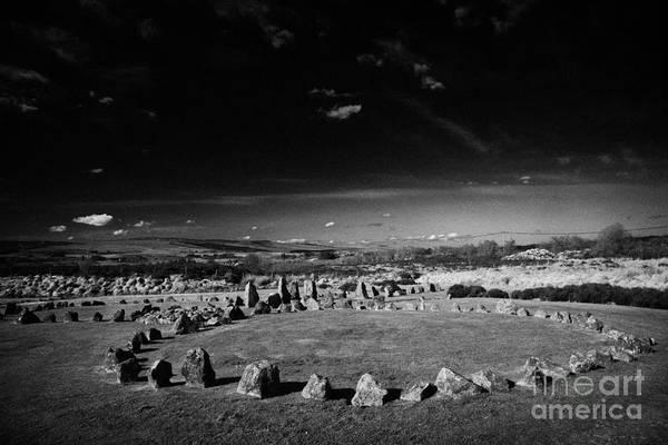 Wall Art - Photograph - Beaghmore Stone Circles County Tyrone Northern Ireland  by Joe Fox