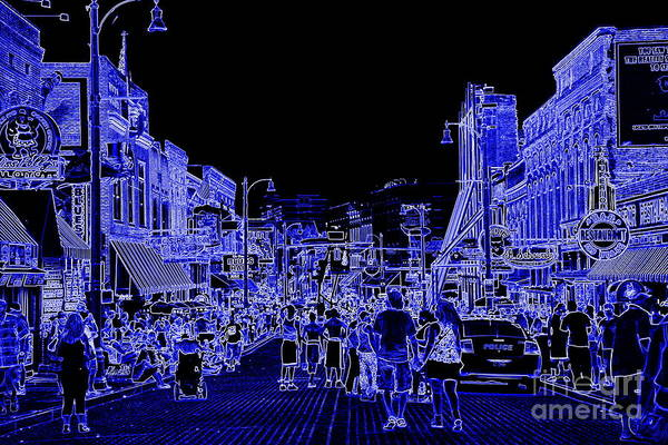Photograph - Beale Street Blues by Carol Groenen
