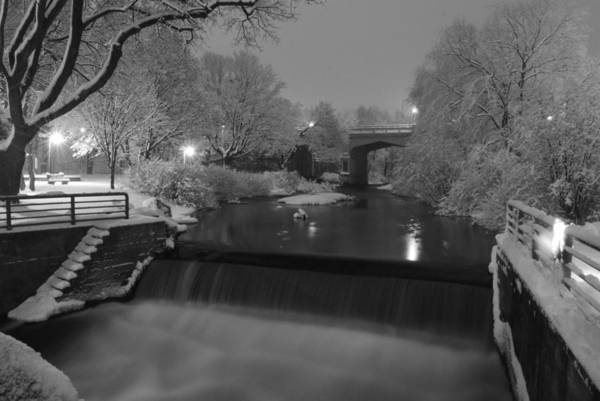 Photograph - Bear River After Fresh Snow by Russell Todd