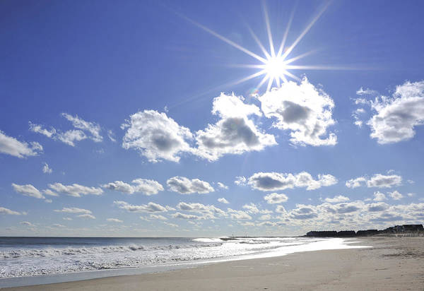 Photograph - Beautiful Beach Day by Terry DeLuco