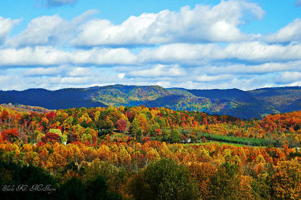 Photograph - Beautiful Blue Ridge Mountains by Sheila Kay McIntyre