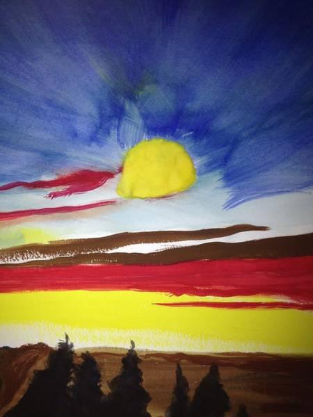 Benny Painting - Beautiful Sky by Benny Davis