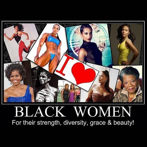 Athletes Wall Art - Photograph - Beautiful Strong Black Women by Nigel Williams