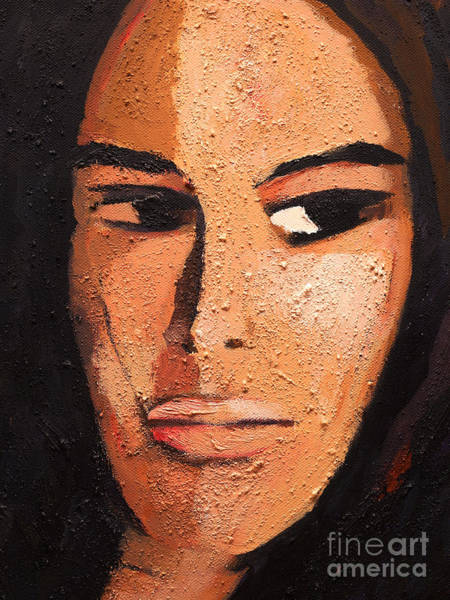 Painting - Beautiful Woman by Lutz Baar