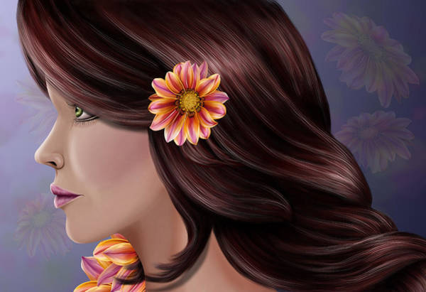 Digital Art - Beauty Blosssoms by Karla White