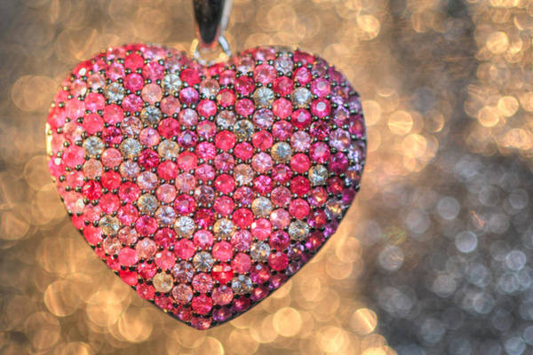 Bedazzle My Heart Art Print